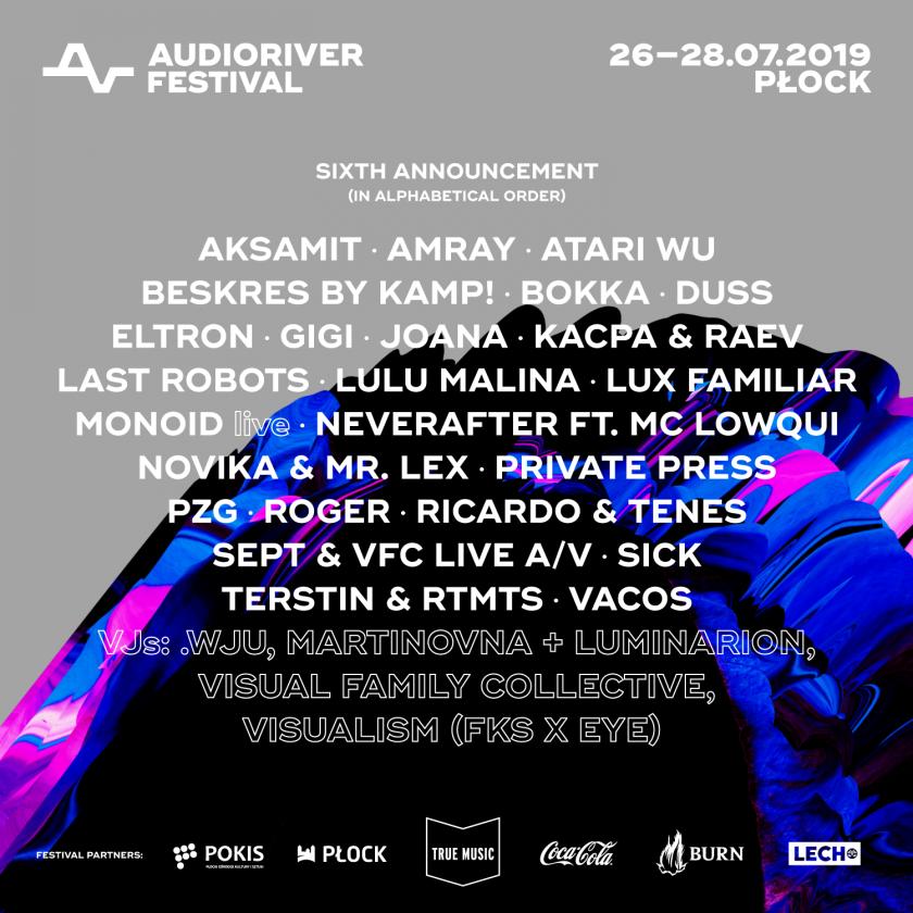 Polska elektronika na Audioriver 2019