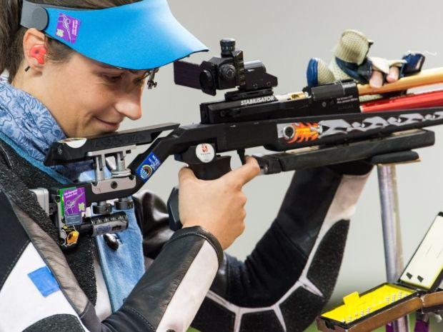 Sylwia Bogacka w akcji (fot. PAP/Adam Ciereszko)