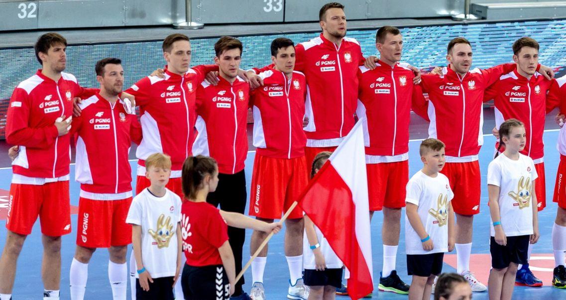 c1e96561b Polscy piłkarze ręczni przed środowym meczem w Gliwicach (fot. PAP/Andrzej  Grygiel)