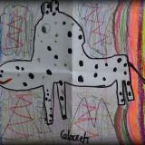Rysunek Julii Walczak, 6 lat
