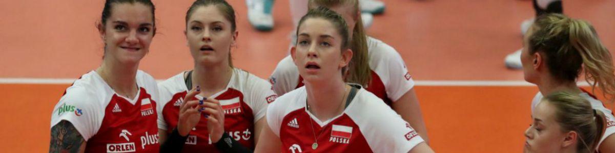 Siatkówka kobiet : USA - Polska i  Brazylia - Polska