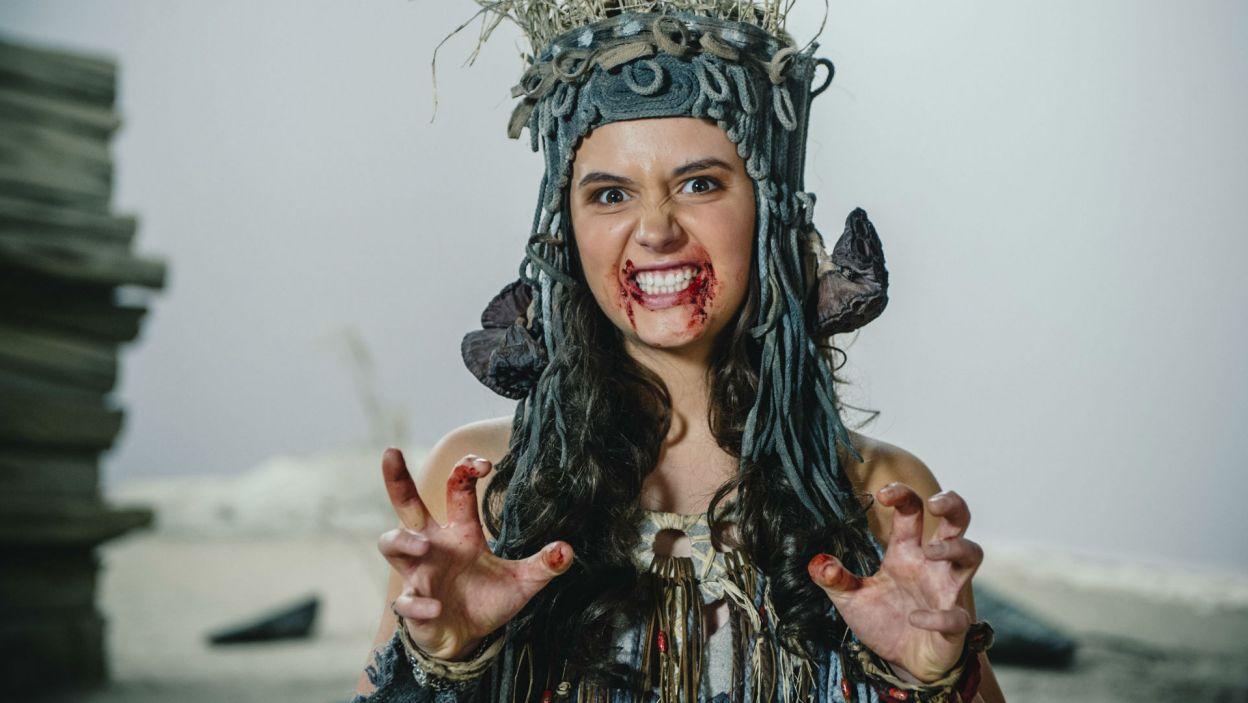 Plemię wcale nie zamierza rezygnować ze swoich kanibalistycznych obyczajów (fot. Natasza Młudzik)