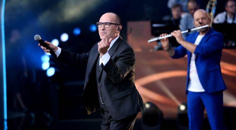 Podczas koncertu usłyszeliśmy piosenki, które kształtowały muzyczny krajobraz Polski przez ostatnie 30 lat. Nie mogło zatem zabraknąć zespołu De Mono! (fot. J. Bogacz/TVP)