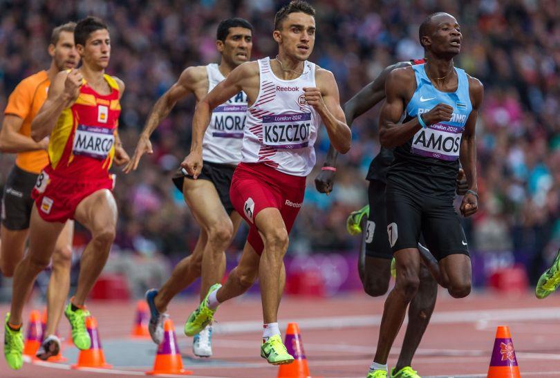 Adamowi Kszczotowi nie udało się awansować do finału biegu na 800 metrów (fot. PAP/Adam Ciereszko)
