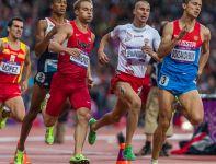 Marcin Lewandowski nie awansował do finału biegu na 800 metrów (fot. PAP/Adam Ciereszko)