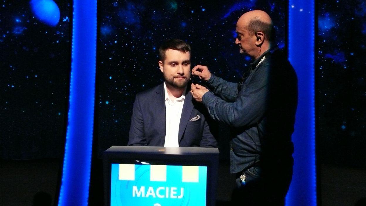 Pan Maciej za chwilę będzie gotowy do rozgrywki 10 odcinka 113 edycji