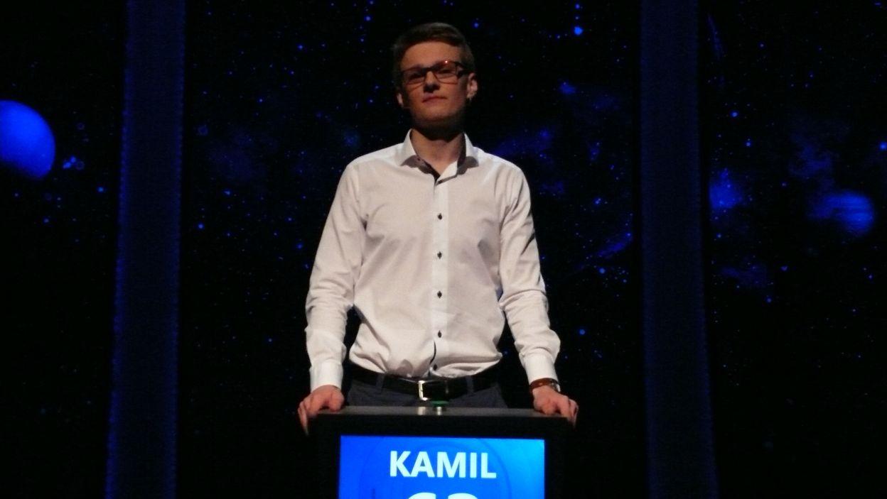 Kamil Dobrzyński - zwycięzca 1 odcinka 103 edycji