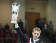 Najlepszy okazał się Litwin Benas Gutkauskas (fot. cavaliada-warszawa.pl)