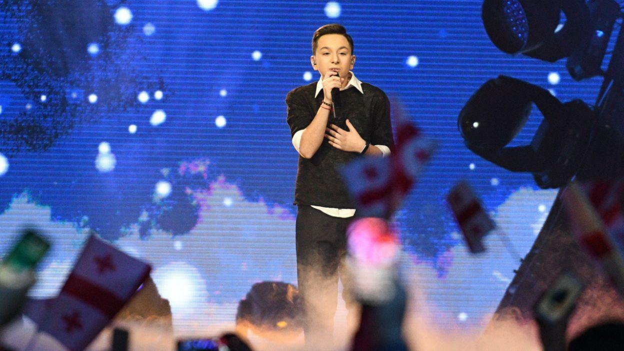 Występ Grigola z Gruzji wywołał wśród publiczności prawdziwy aplauz  (fot. Getty Images)