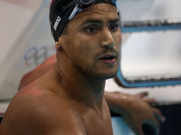 Ous Mellouli zdobył już medal na krytej pływalni (fot. Getty Images)