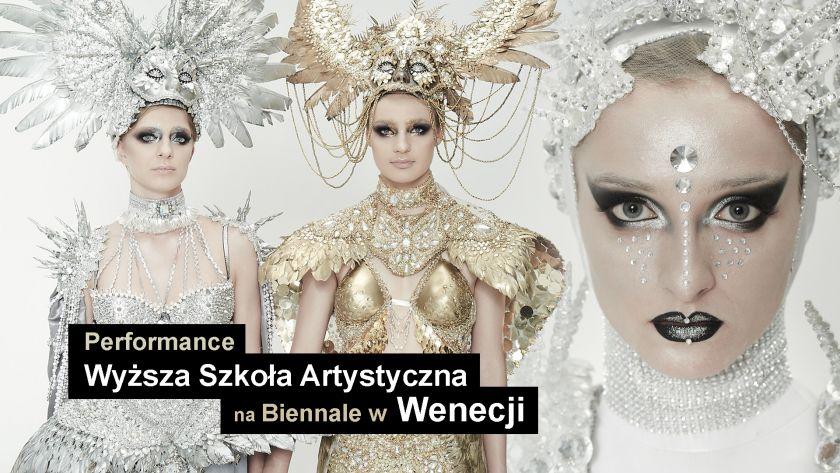 Performance Wyższej Szkoły Artystycznej podczas Biennale w Wenecji