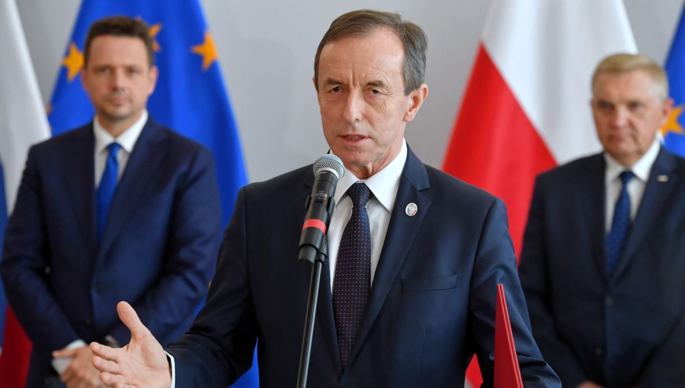 Senat przerywa obrady. Marszałek Tomasz Grodzki zmienia zdanie (fot. PAP/Piotr Nowak)
