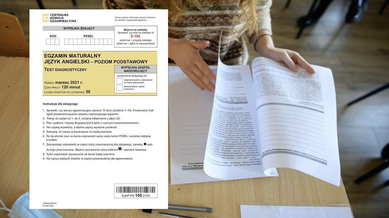 To trzeci dzień próbnych egzaminów (fot. PAP/Jakub Kaczmarczyk, CKE)