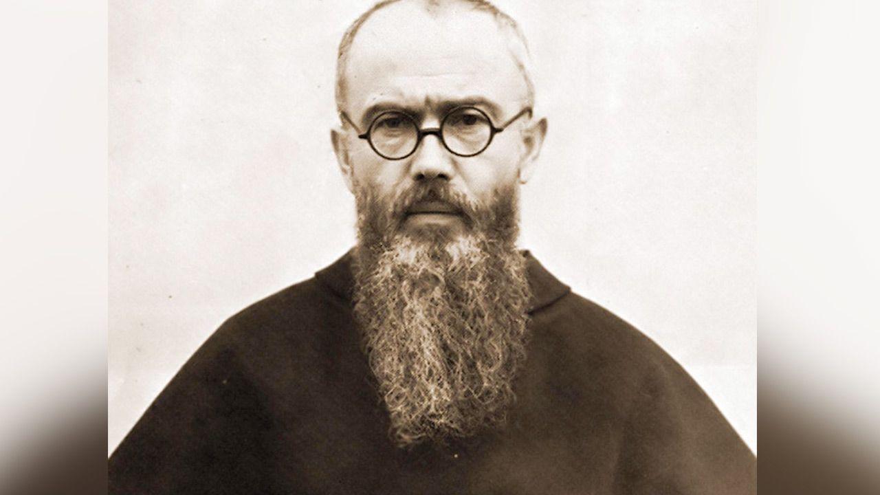 Maksymilian Kolbe (fot. PAP/Alamy)