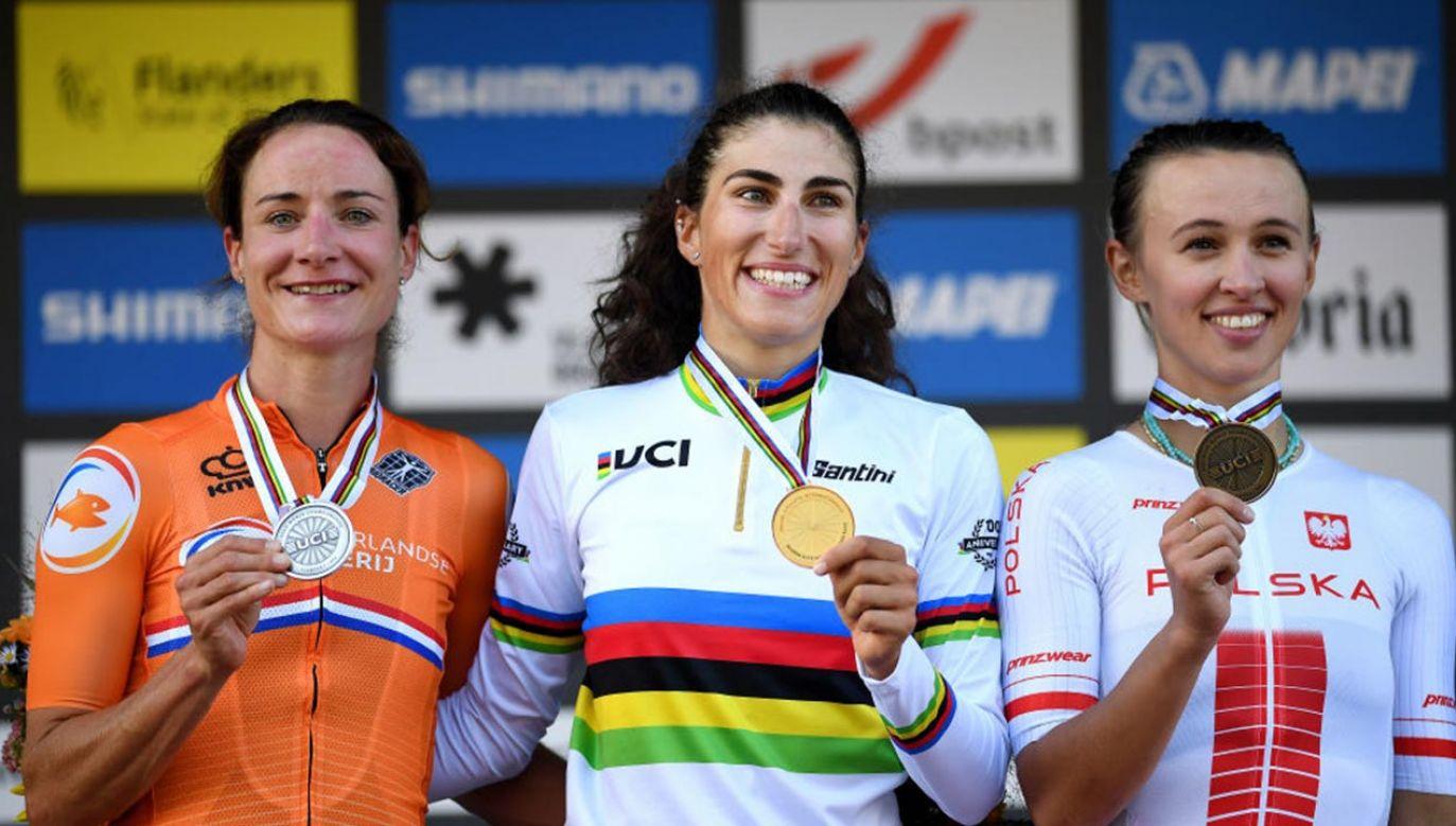 MŚ w kolarstwie: Katarzyna Niewiadoma brązową medalistką (fot. Tim de Waele/Getty Images)