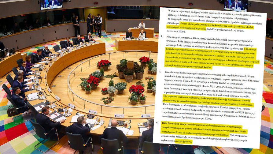 Co się działo za brukselskimi kulisami i jaki będzie konkretny skutek przyjętych ustaleń dla polskiej gospodarki? (fot. PAP/EPA/JULIEN WARNAND / POOL)