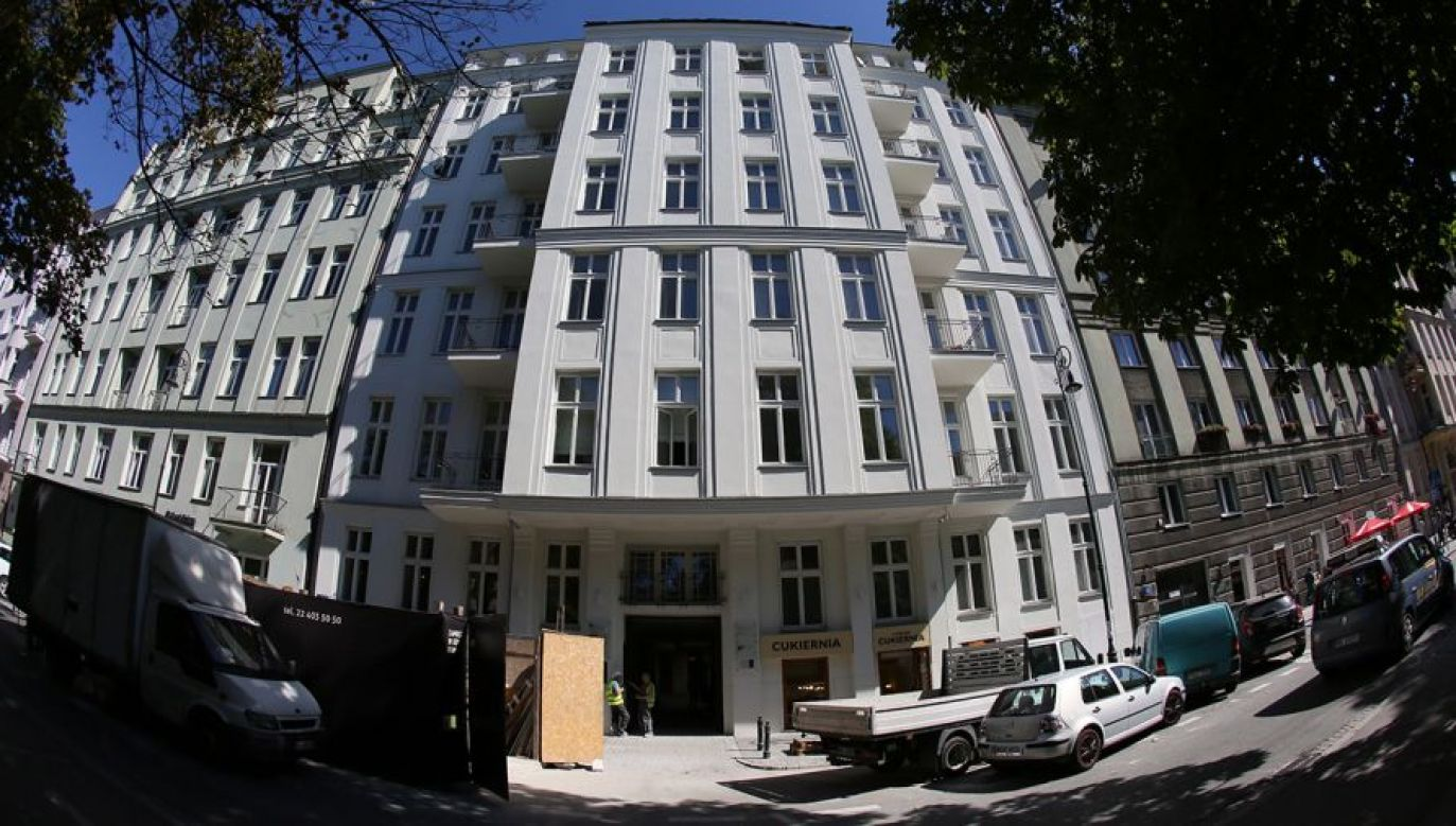 Nieruchomości przy ul. Noakowskiego 16 została wydana z naruszeniem prawa. Spadkobiercy musieli zwrócić 15 mln (fot. arch.)