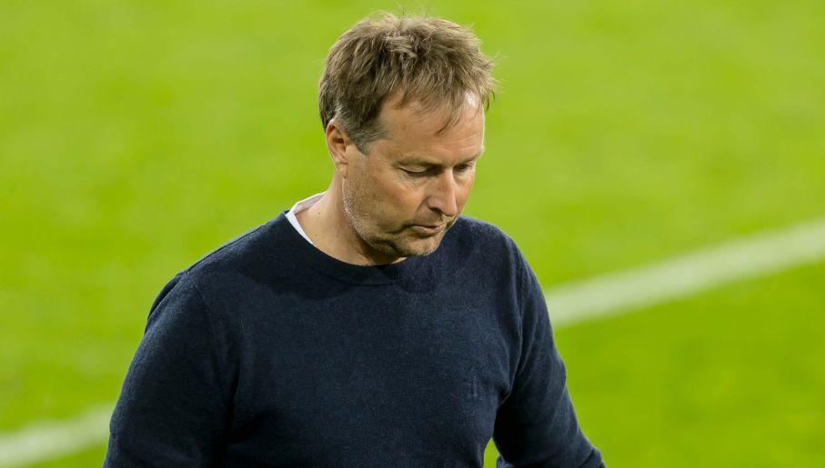 Trener Kasper Hjulmand dobrze wpłynął na duński zespół (fot. Getty Images)
