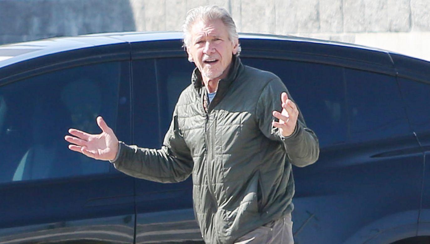 Aktor kontuzjowany na planie filmu (fot. BG004/Bauer-Griffin/GC Images)