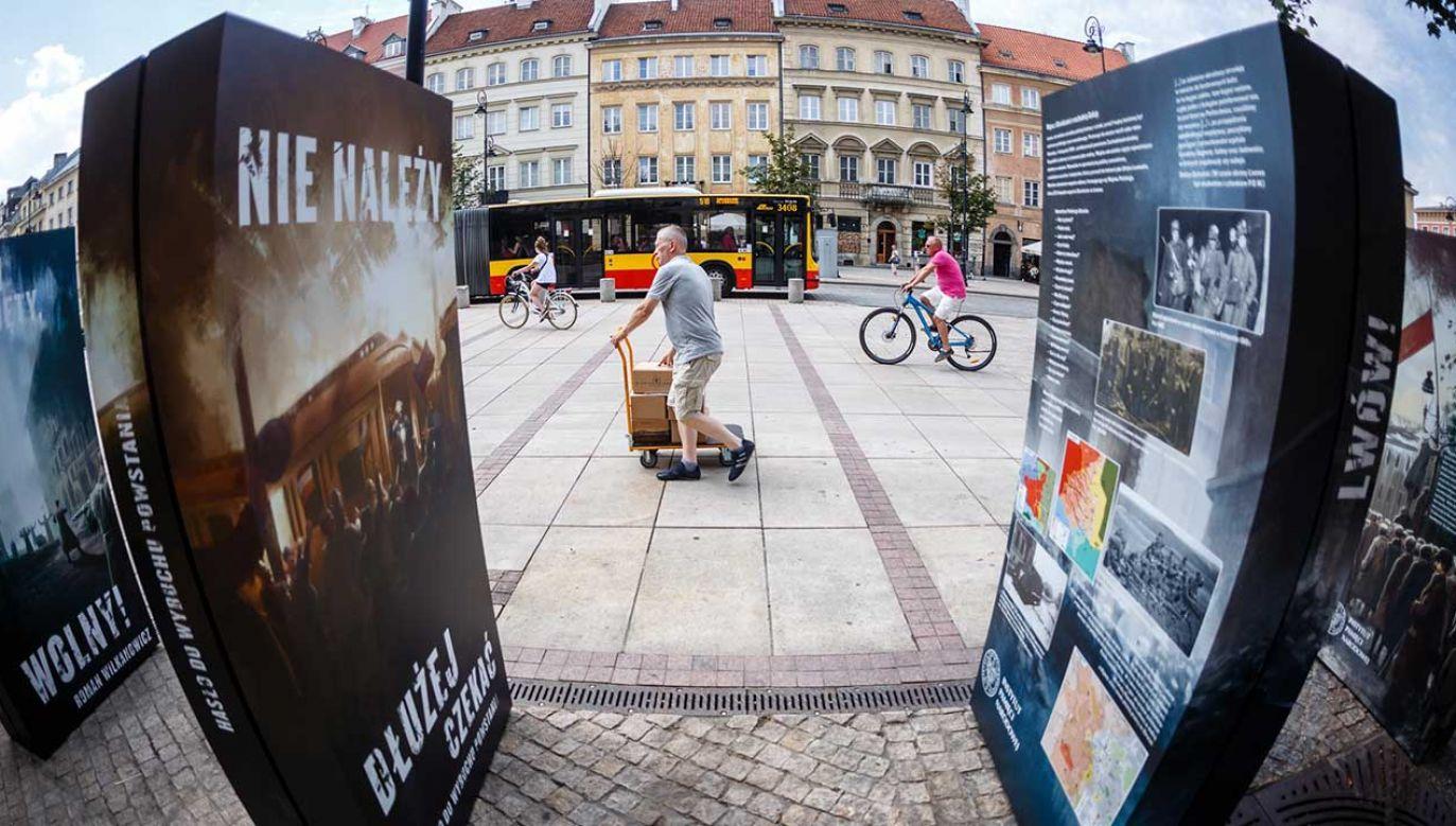 Na wystawie przedstawiono między innymi historię powstania wielkopolskiego i walk o Lwów (fot. FB/Instytut Pamięci Narodowej)