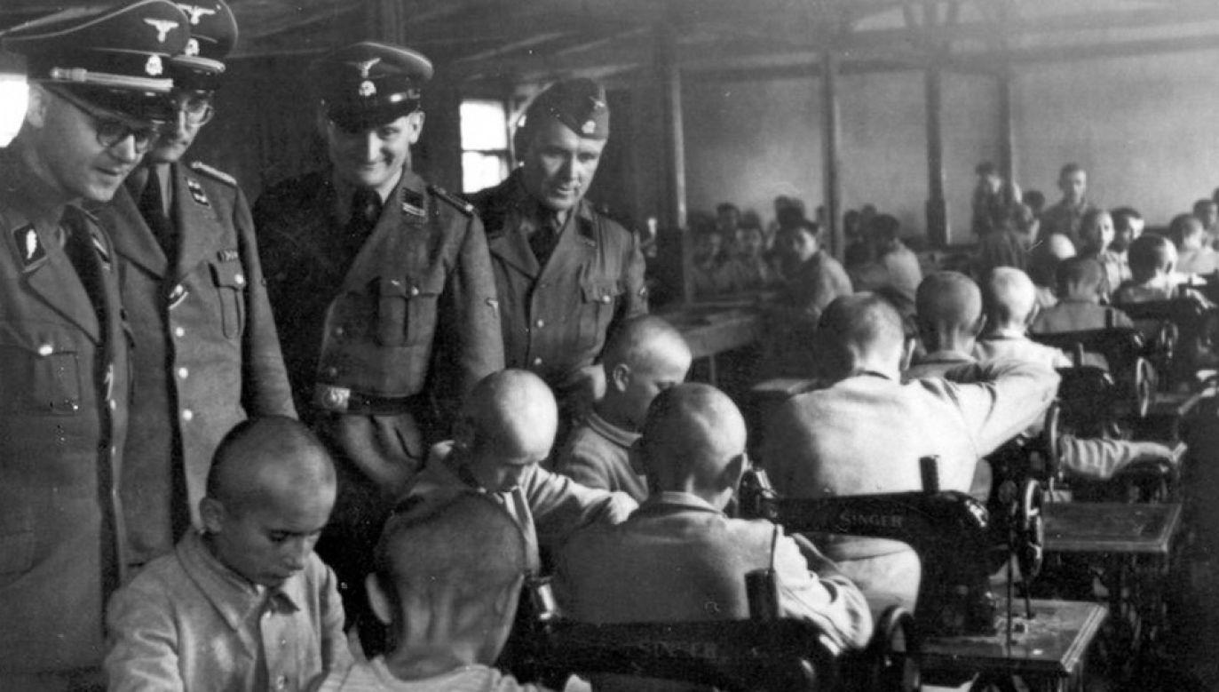 Nieletni więźniowie trafiali do obozu m.in. za drobne kradzieże, handel, jazdę tramwajami bez biletu, żebranie (fot. Archiwum IPN Oddział w Łodzi)