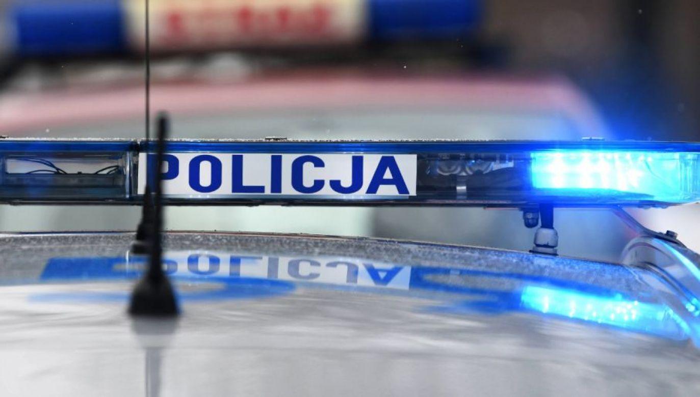 Jak dodał policjant, znaleziony mężczyzna nie miał na ciele widocznych obrażeń (fot. arch. PAP/Darek Delmanowicz)
