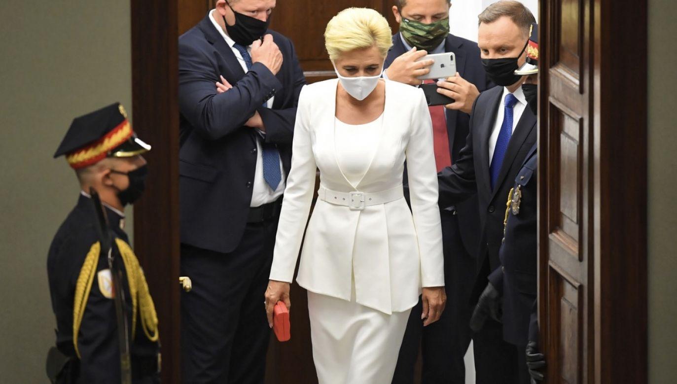 Agata Kornhauser-Duda (fot. PAP/Radek Pietruszka)