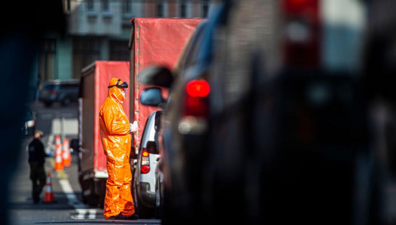 Według informacji Federalnego Ministerstwa Zdrowia, część osób będzie zwolniona z obowiązku odbycia kwarantanny nawet przy braku ujemnego wyniku testu. (Florian Gaertner/Photothek via Getty Images, zdjęcie ilustracyjne)