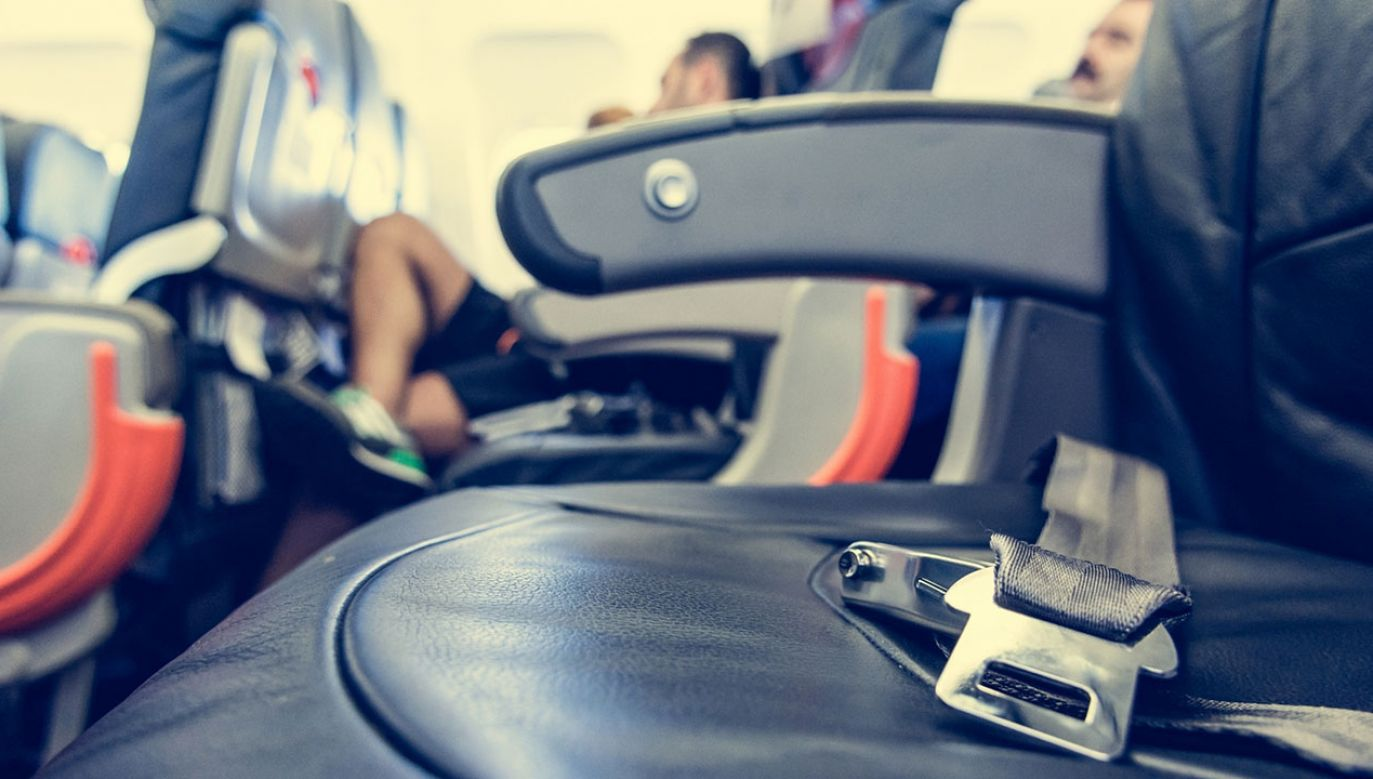 Interwencja SG na pokładzie samolotu (fot. Shutterstock/ Bizi88)