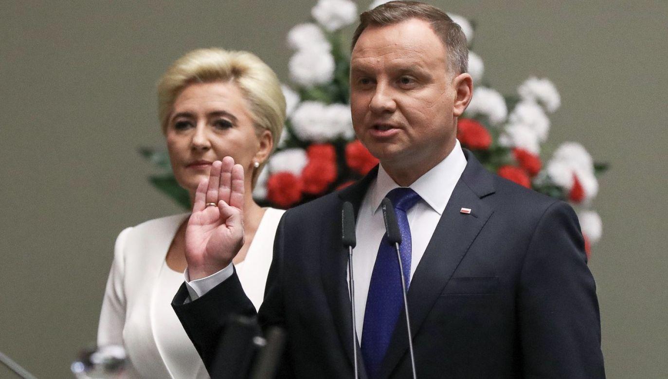 Część polityków nie przyszła na zaprzysiężenie prezydenta (fot. Grzegorz Jakubowski/KPRP)