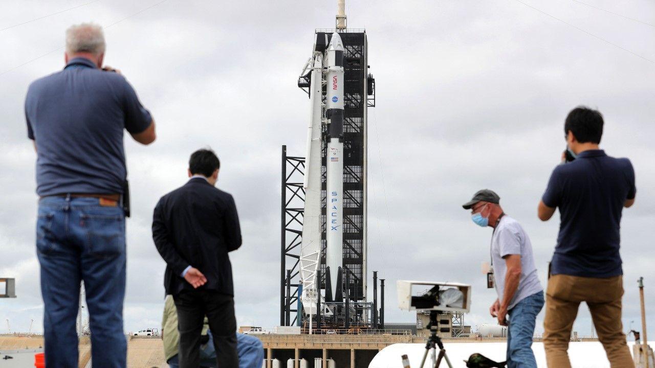 Start rakiety Falcon9 znów odłożony (fot. Joe Burbank/Orlando Sentinel/Tribune News Service via Getty Images)