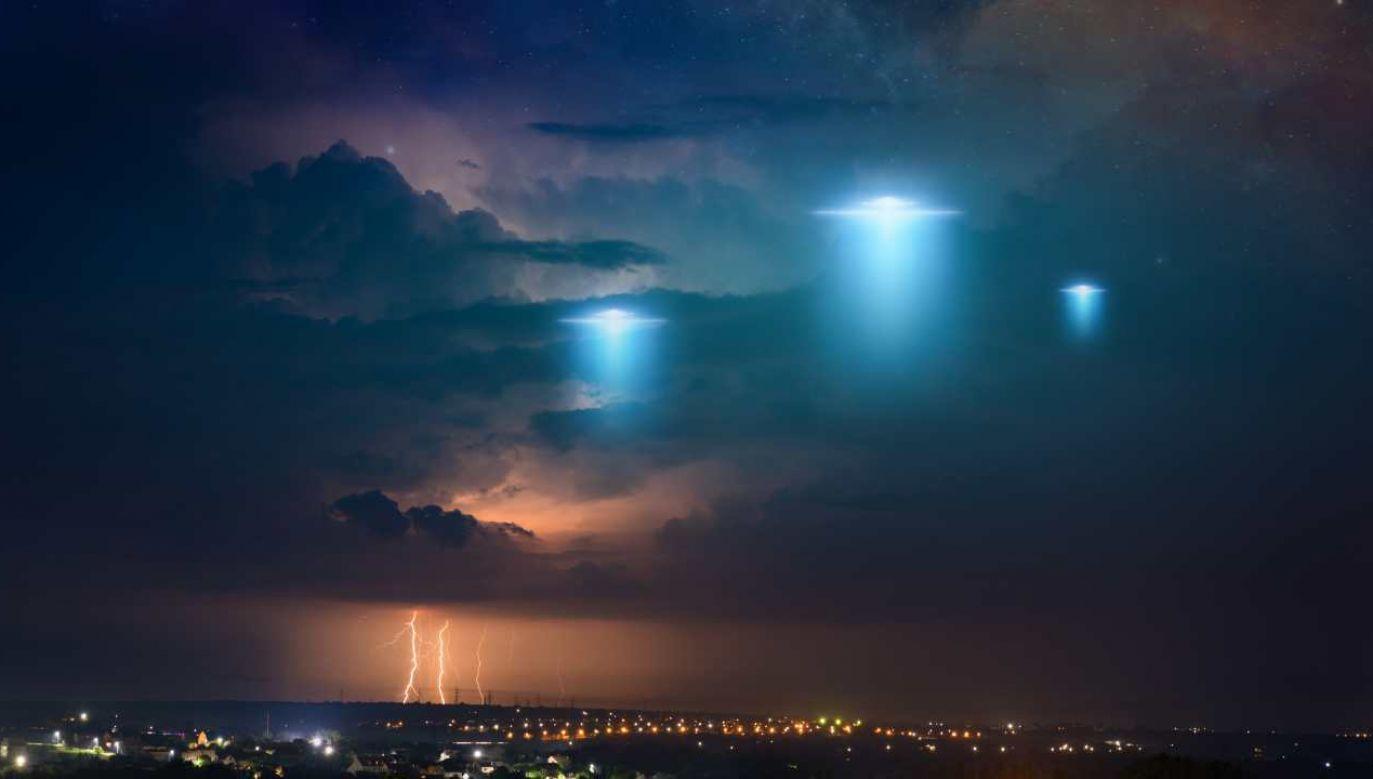 UFO pozostaje wciąż nierozwiązaną zagadką (fot. Shutterstock/IgorZh0)
