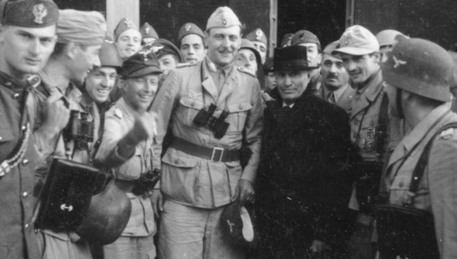 Otto Skorzenny zasłynął uwolnieniem Benito Mussoliniego (fot. Bundesarchiv)