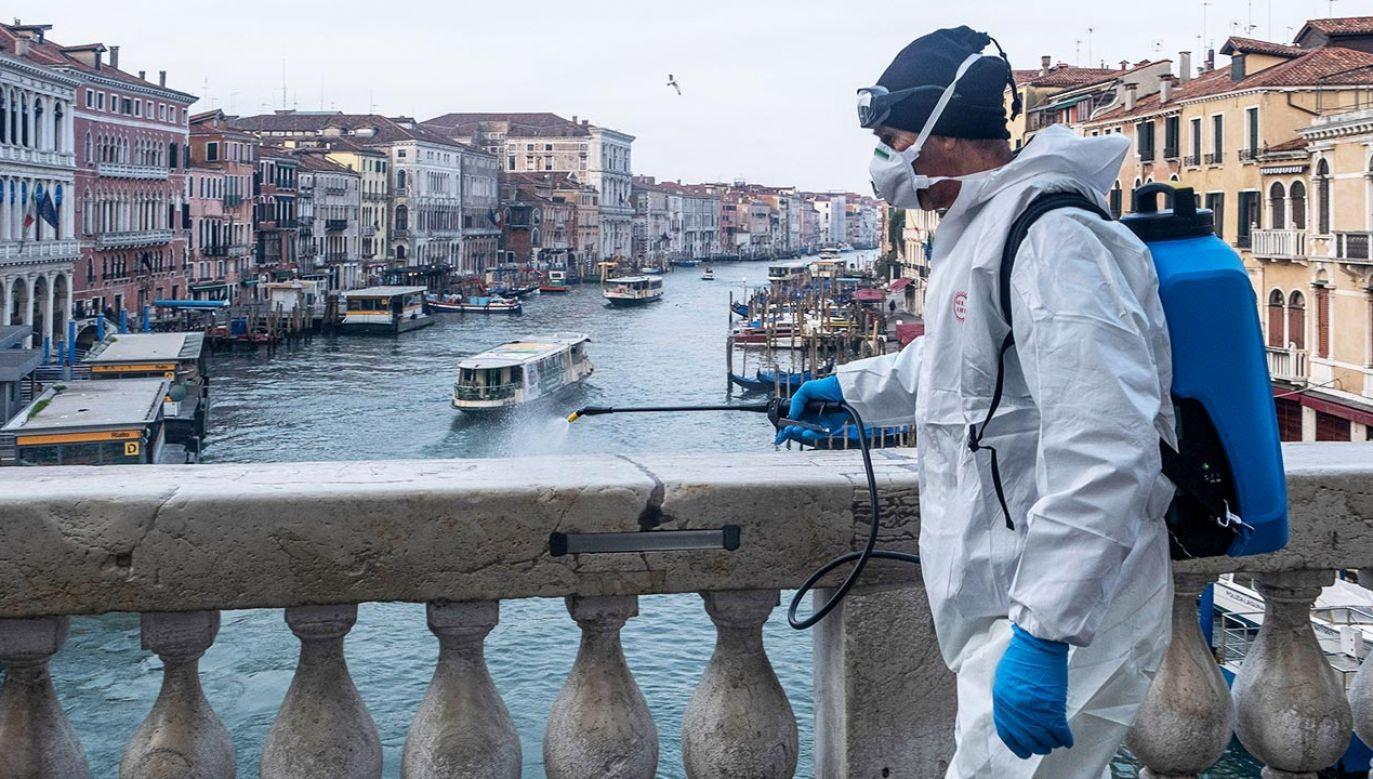 Przed rokiem region Wenecji Euganejskiej został zaatakowany jako jeden z pierwszych (fot. Stefano Mazzola/Awakening/Getty Images)