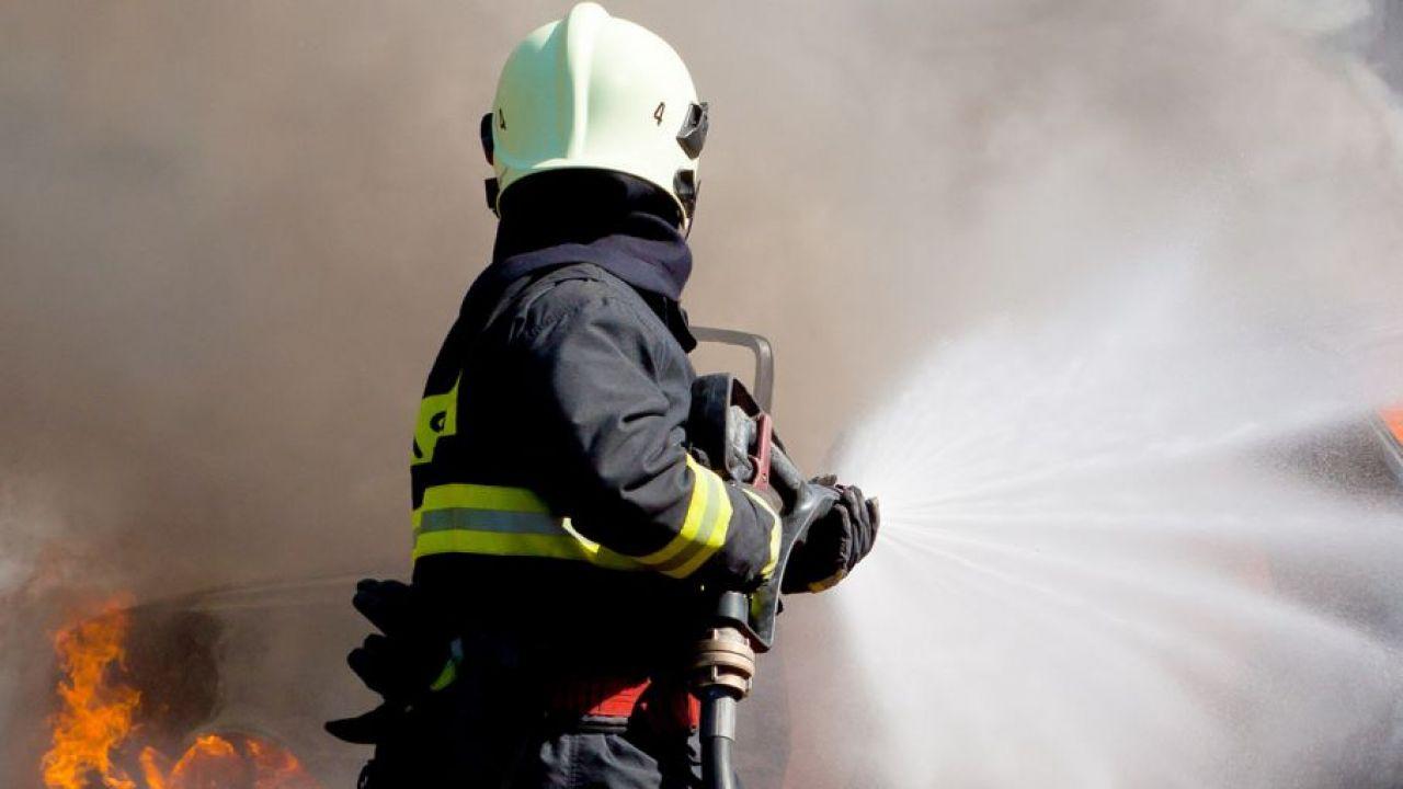 Przyczyny pożaru będzie badała policja (fot. Shutterstock/Martin Kucera)