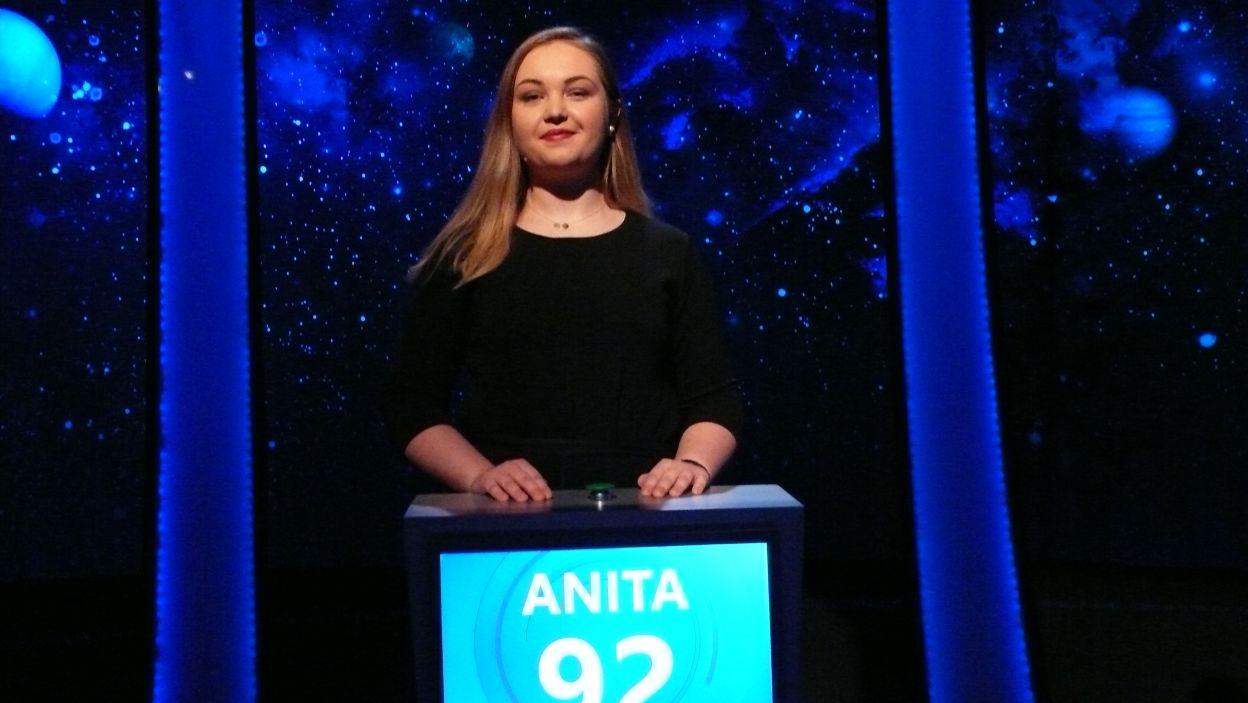 Zwyciężczynią 1 odcinka 110 edycji została Pani Anita Dziadowiec