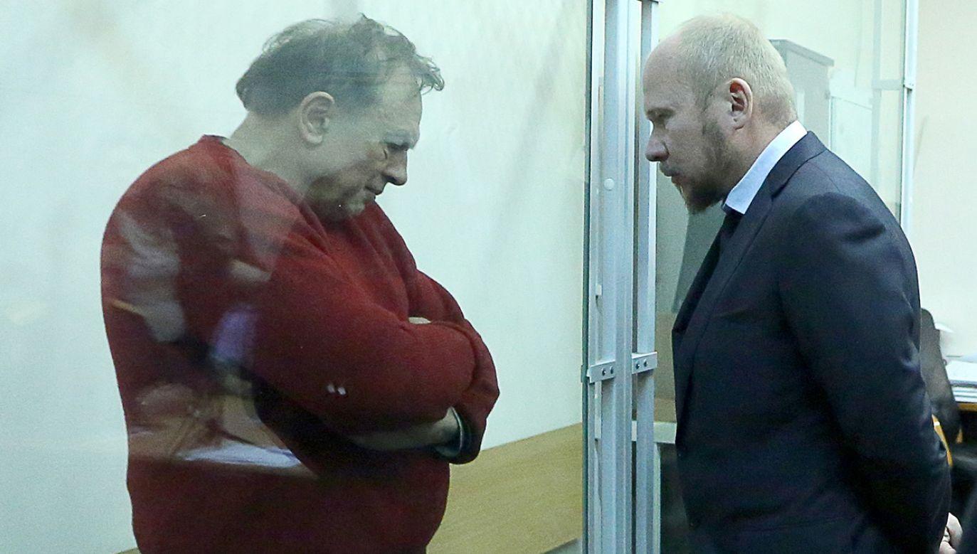 Podejrzany twierdzi, że został wcześniej zaatakowany przez swoją ofiarę (fot. Peter Kovalev\TASS via Getty Images)