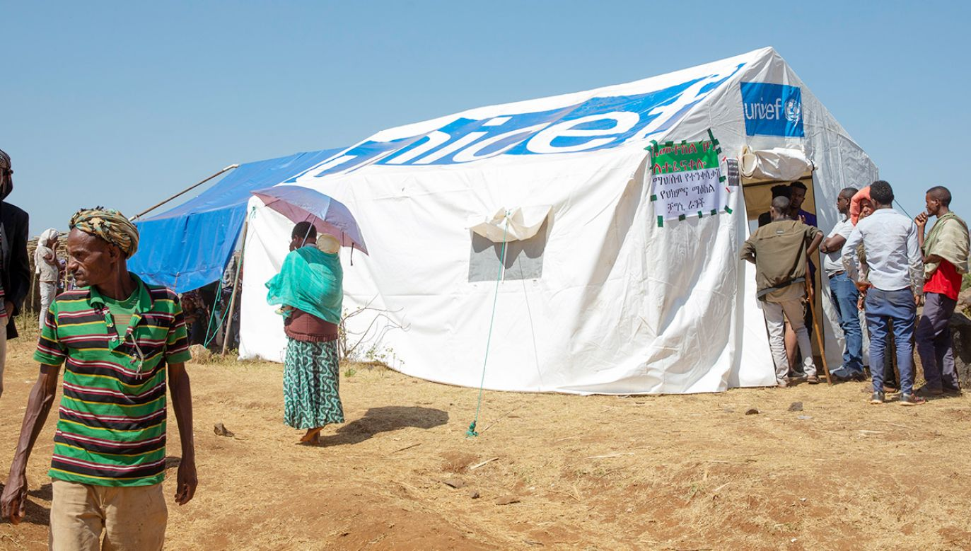 Problemy z pomocą humanitarną w Etiopii (fot. Jemal Countess/Getty Images)