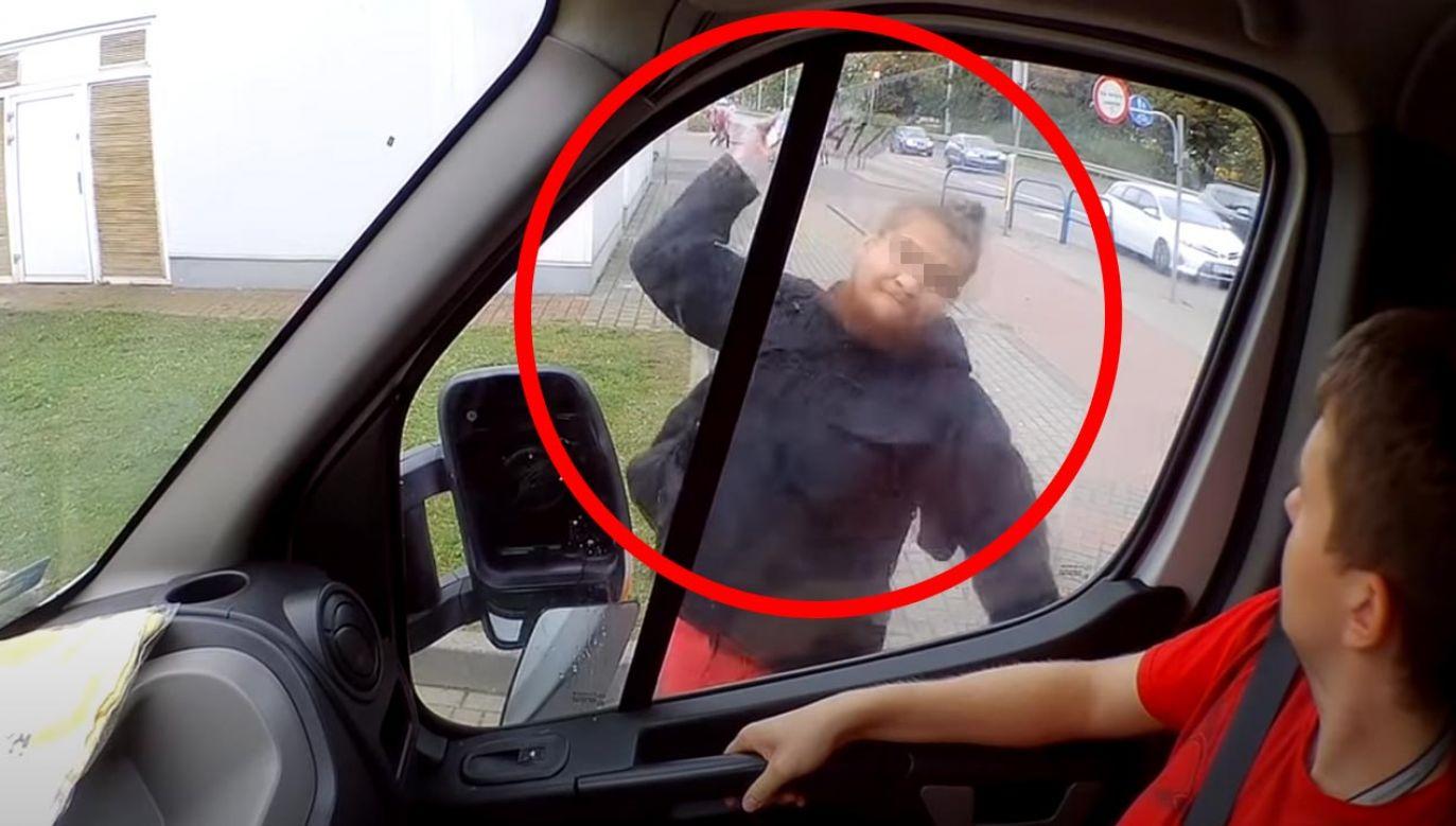 Mężczyzna po wszystkim uciekł (fot. YouTube/Fundacja Pro Tv)