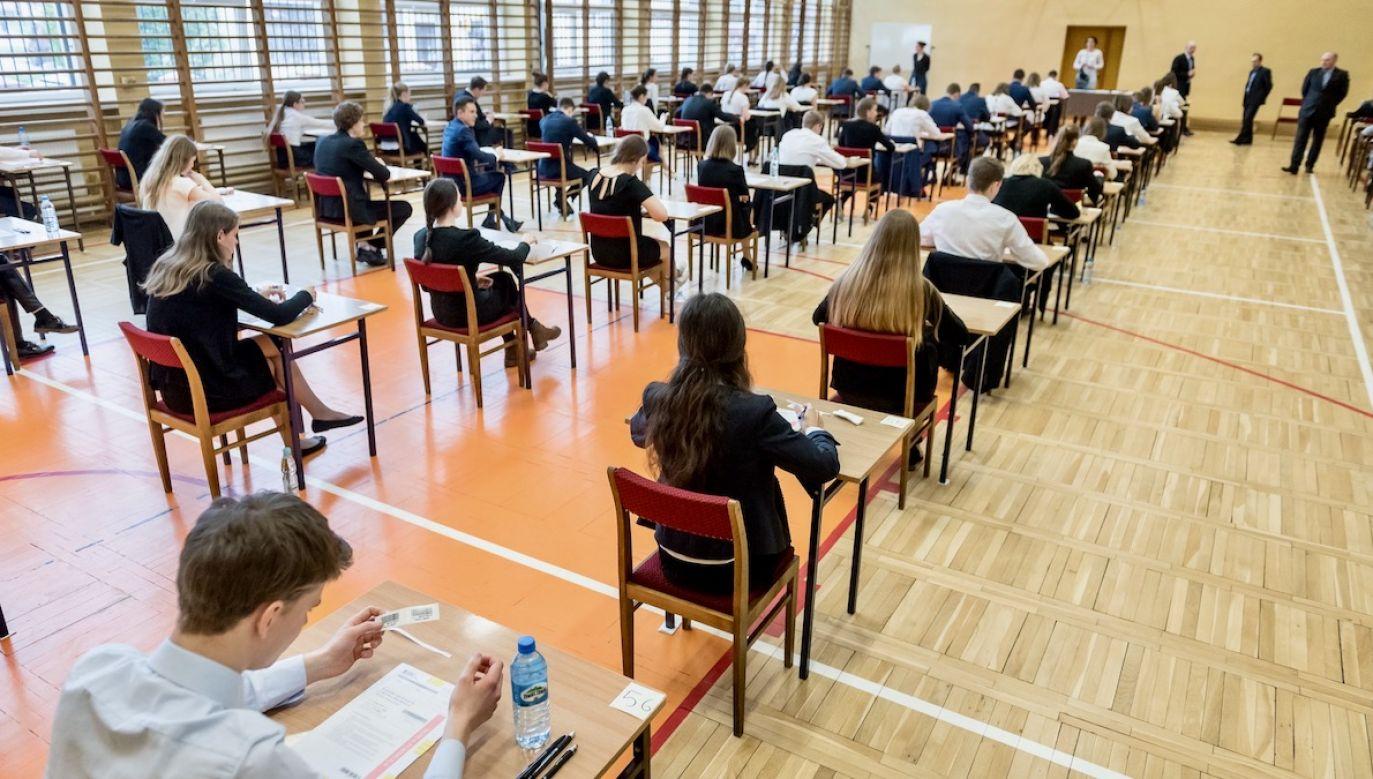 Egzaminy maturalne rozpoczną się 8 czerwca (fot. arch.PAP/Tytus Żmijewski)