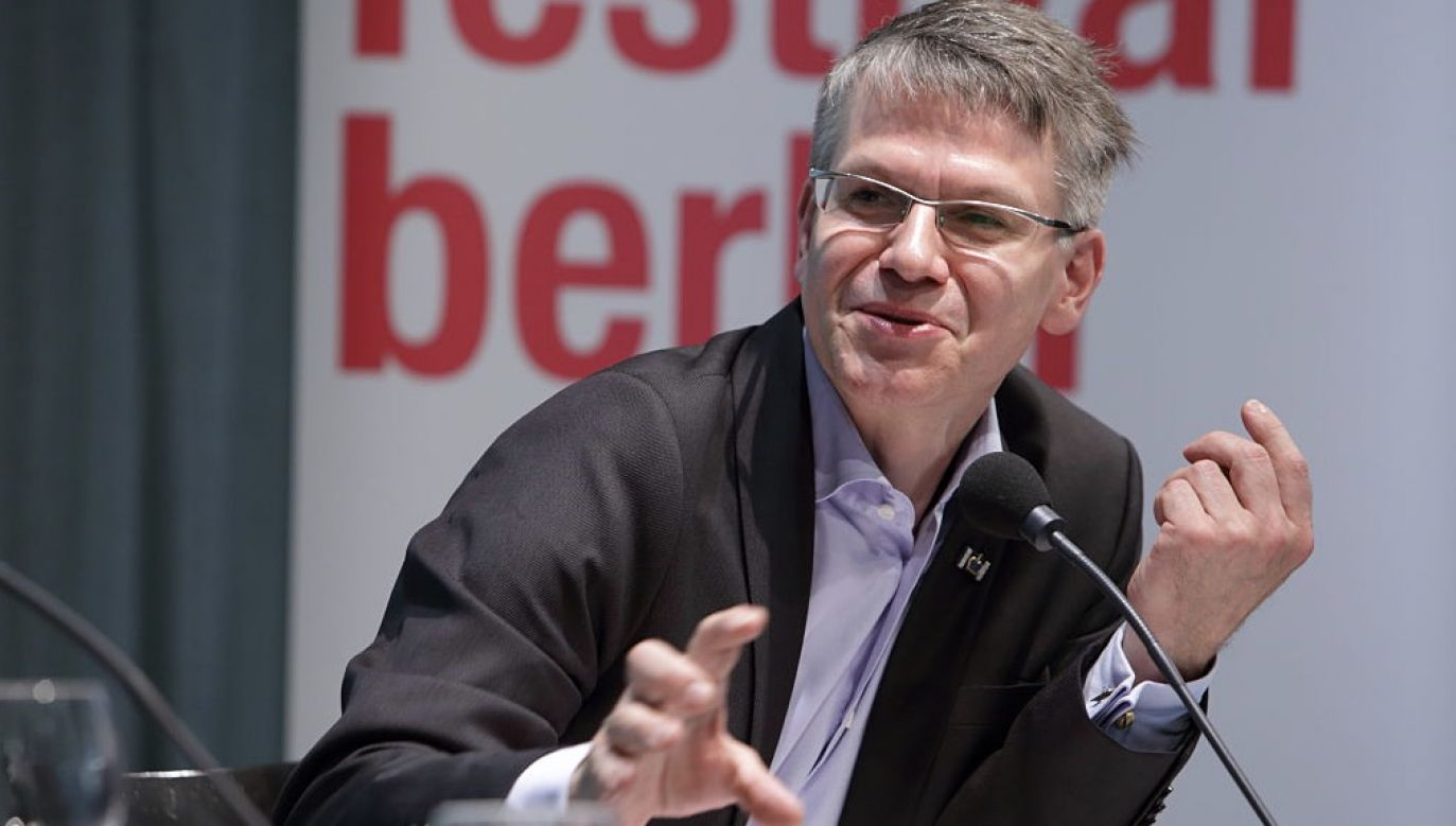 Durs Grünbein jest uważany przez krytyków za pierwszego wielkiego poetę zjednoczonych Niemiec (fot. Gezett/ullstein bild via Getty Images)