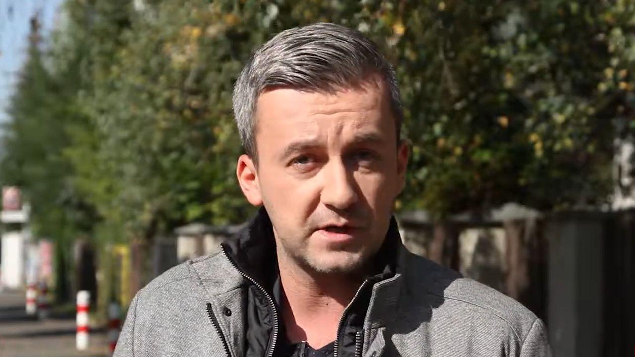 """Krzysztof Skórzyński - TVN24 i """"Fakty"""" TVN (fot. Youtube.com / Centrum Myśli Jana Pawła II"""