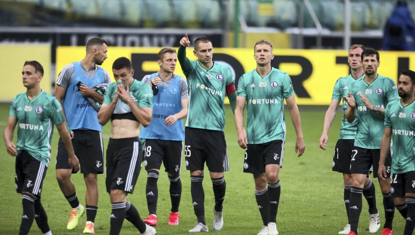 Legia Warszawa już dziś może zostać mistrzem Polski (fot. PAP/Leszek Szymański)