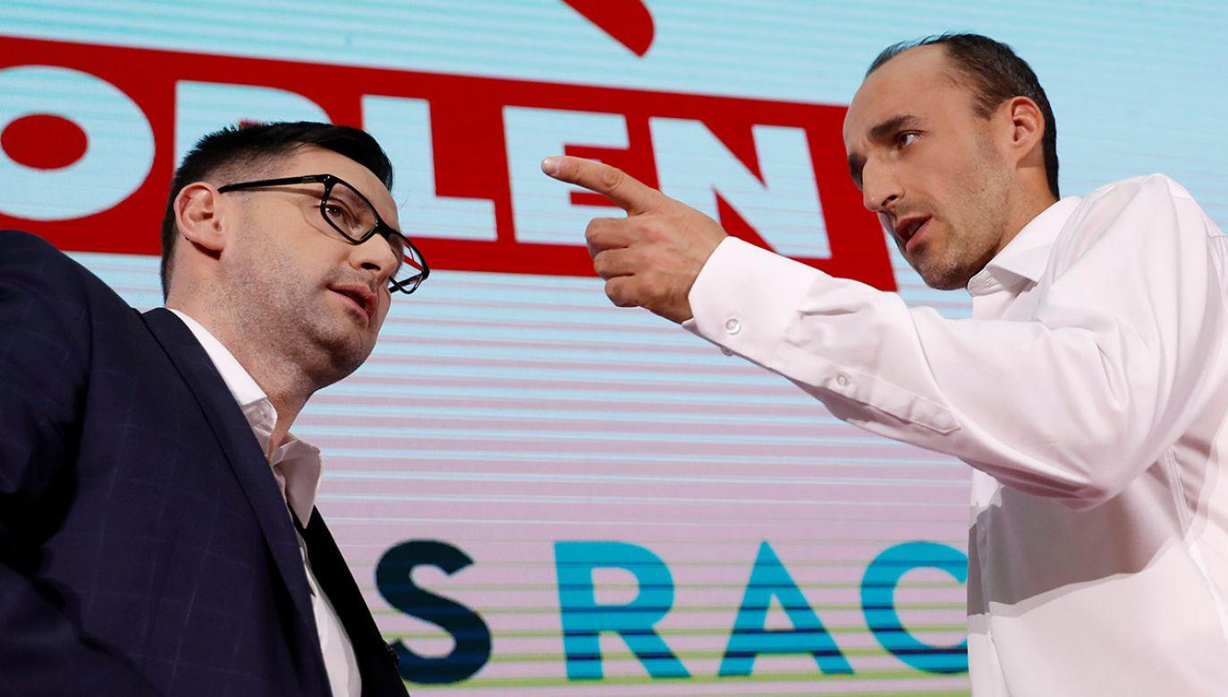 Kubica dołączy do zespołu jako kierowca rezerwowy (fot. REUTERS/Kacper Pempel)