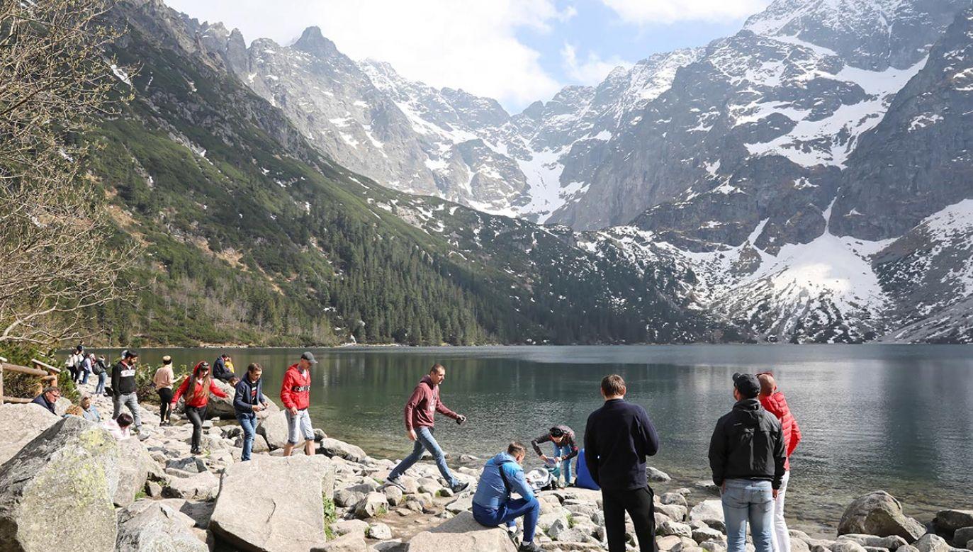 W Tatrach obowiązuje pierwszy stopień zagrożenia lawinowego (fot. PAP/Grzegorz Momot)