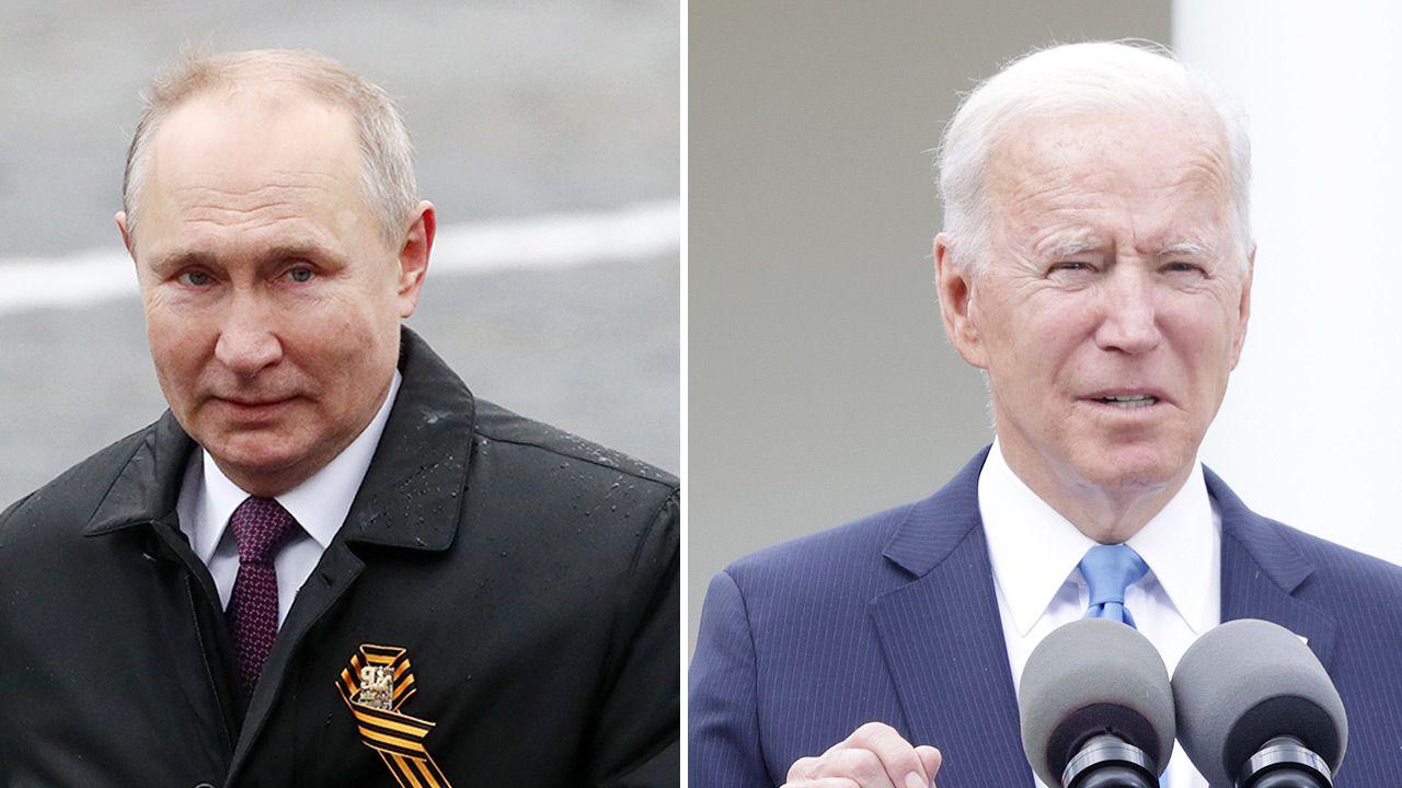 Władimir Putin i Joe Biden (fot. Getty Images)