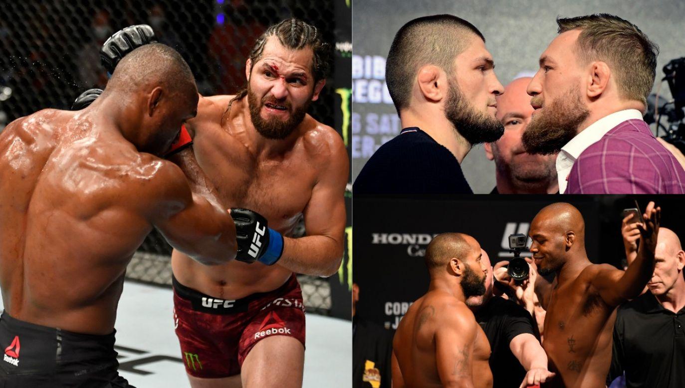 UFC 251 z udziałem Jorge Masvidala i Kamaru Usmana sprzedała się znakomicie – w dużej mierze dzięki ich konfliktowi (fot. Getty Images)