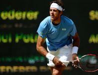 Juan Martin del Potro wysoko postawił poprzeczkę Federerowi w półfinale (fot. Getty Images)