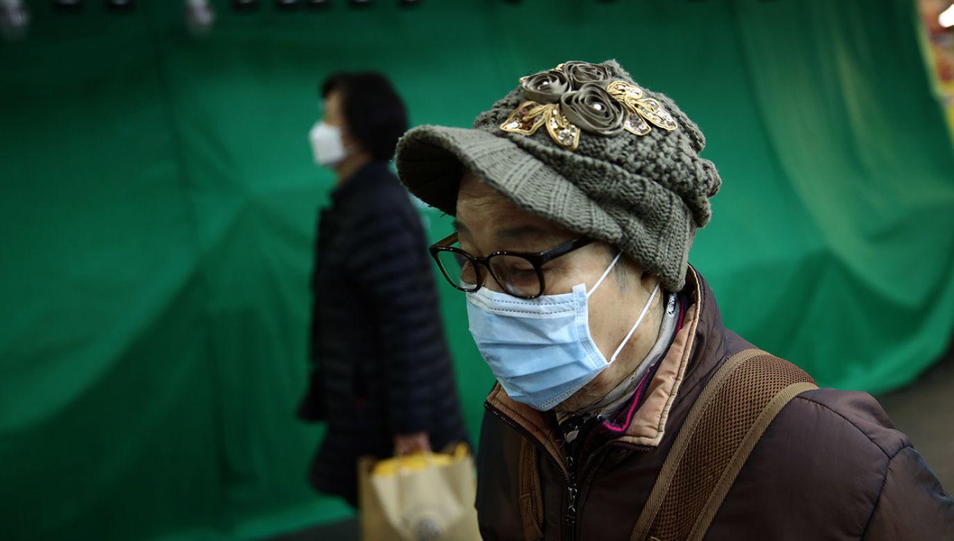 Odnotowano cztery zakażone osoby (fot. Chung Sung-Jun/Getty Images)