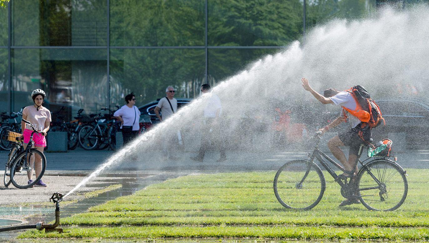 Upał osłabia naszą koncentrację (fot. PAP/EPA/JENS SCHLUETER)